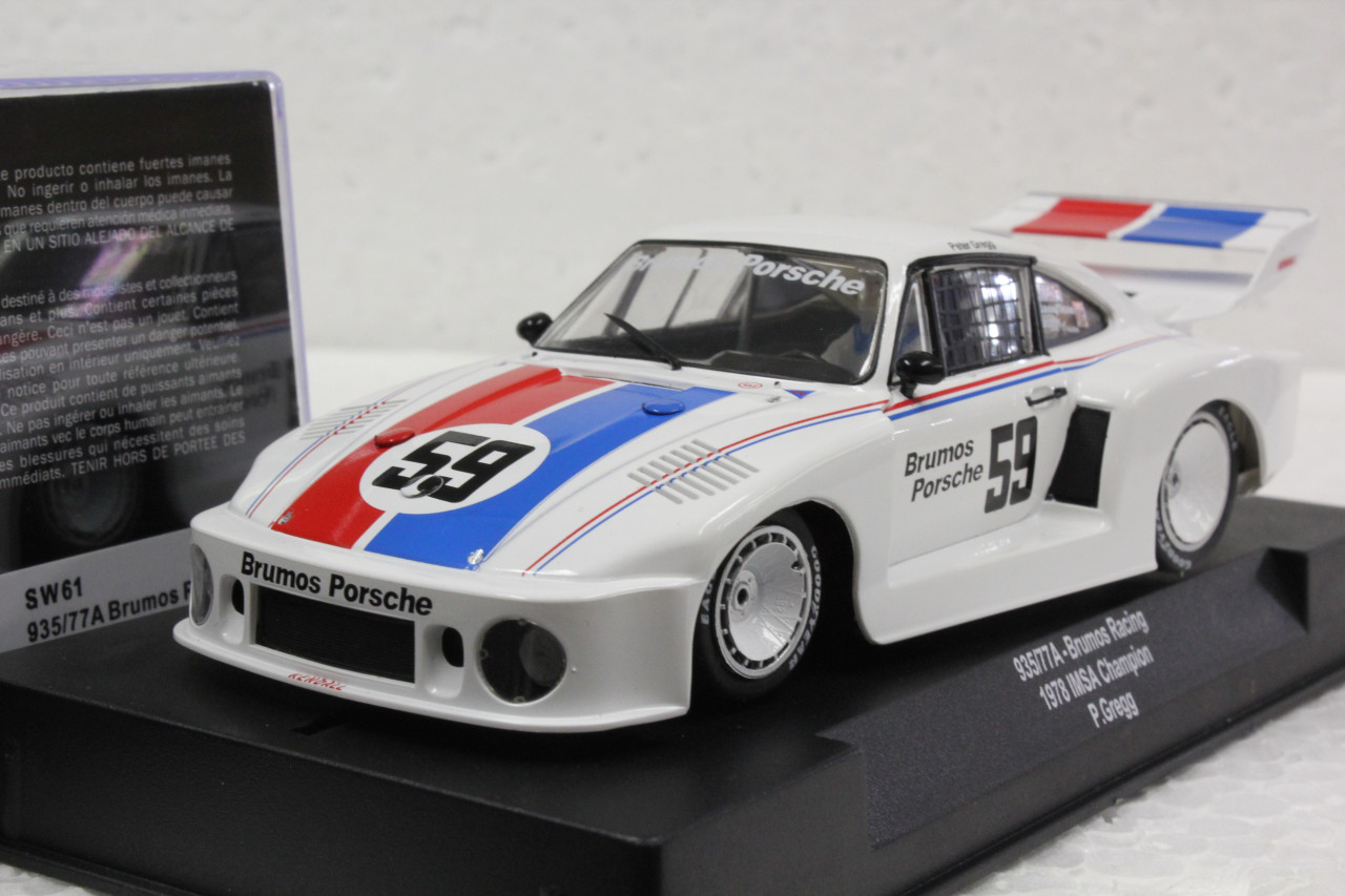 SW61 Racer Sideways Porsche 935/77A Brumos Racing 1978 IMSA Champion #59  1:32 Slot Car