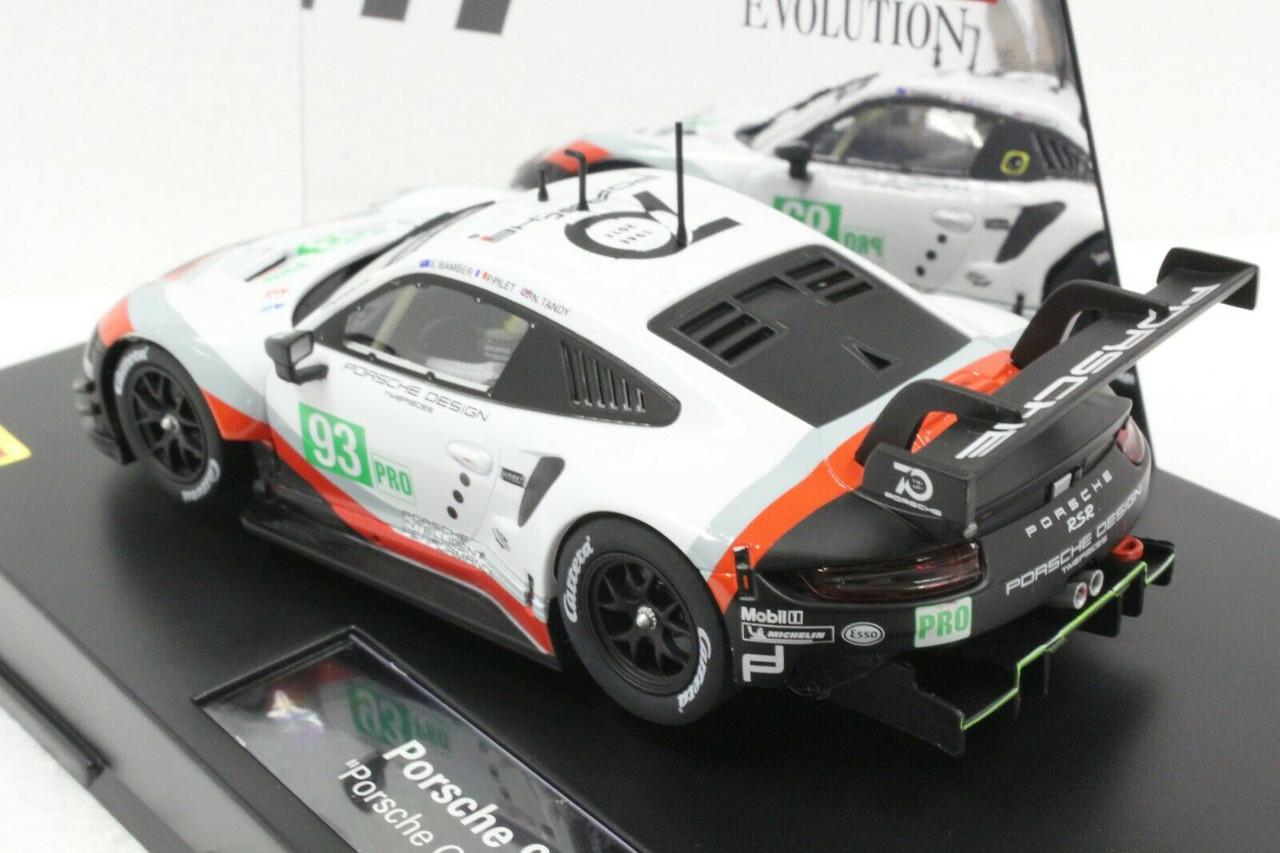 27607 Porsche 911 RSR #93 GT Team Carrera Evolution 1 32 Scale Analog Slot Car Racing Vehicle