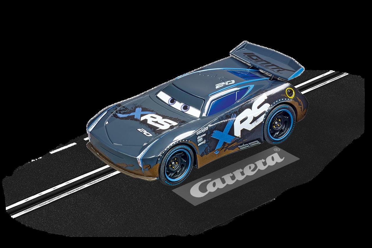 64154 Carrera Go Disney Pixar Cars Jackson Storm Mud Racer 1 43 Slot Car Great Traditions