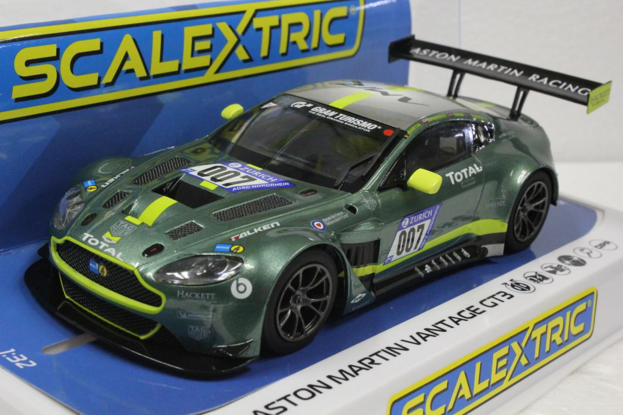 Scalextric Aston Martin Gt3 Nurburgring 24hr Le Mans 2018 1 32 Slot Race Car C4036 Hobbies Slot Cars