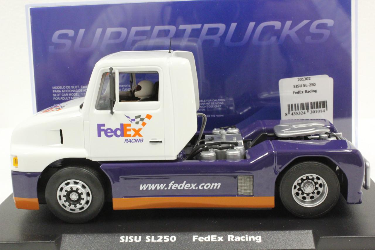201302 Fly SISU SL250 Super Truck FedEx Racing 1:32 Slot Car