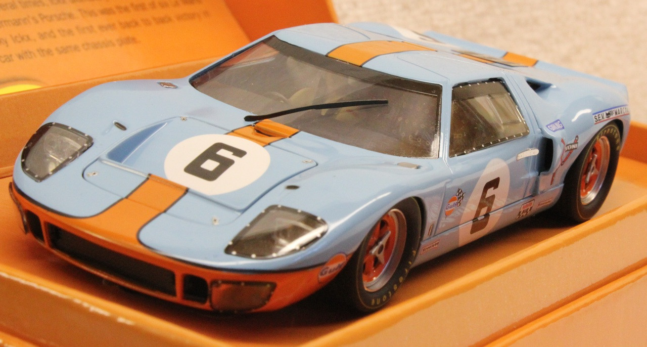 Sicw09 Slot It Ford Gt40 1st 24h Le Mans 1969 6 Jacky Ickx Jackie Oliver