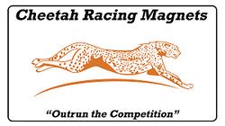 Cheetah Racing Magnets