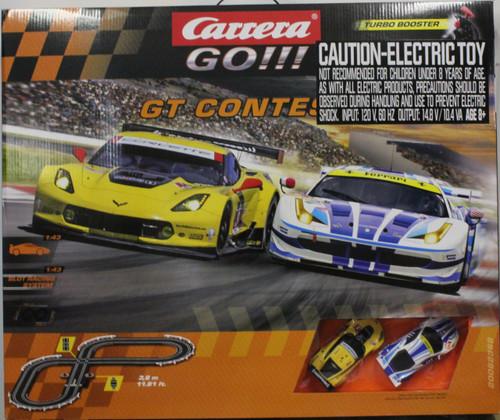 62368 Carrera Go!!! GT Contest 1:43 Slot Car Set