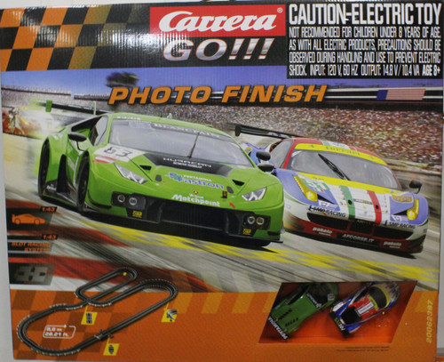 Carrera Go!!! Photo Finish 1:43 Slot Car Set