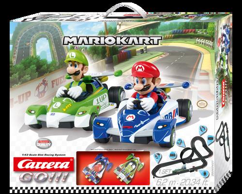 62431 Carrera Go!!! Mario Kart 1:43 Slot Car Set