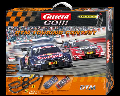 Carrera Go!!! DTM Touring Contest 1:43 Slot Car Set