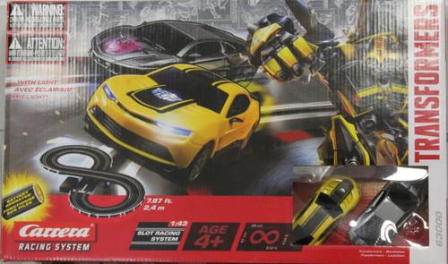 Carrera Transformers Bumblebee Battery Operated Slot Car Set