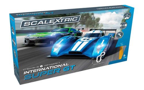 C1369 Scalextric Standard Set International Super GT Set
