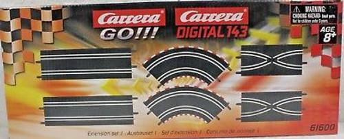 61600 Carrera GO!!! Extension Set 1 - 1/43 Slot Car Track