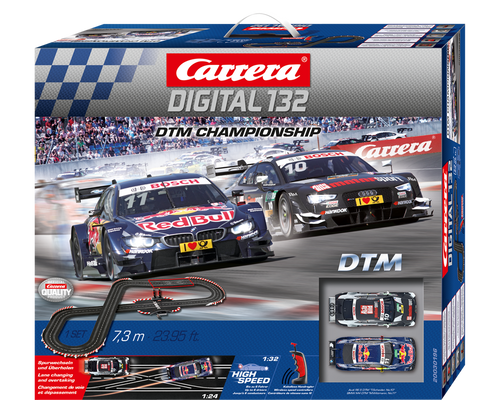 30196 Carrera Digital 132 DTM Championship Wireless+ 1/32 Slot Car Racing Set