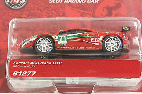 61277 Carrera GO!!! Ferrari 458 Italia GT2 AF Corse, #71 1/43 Slot Car