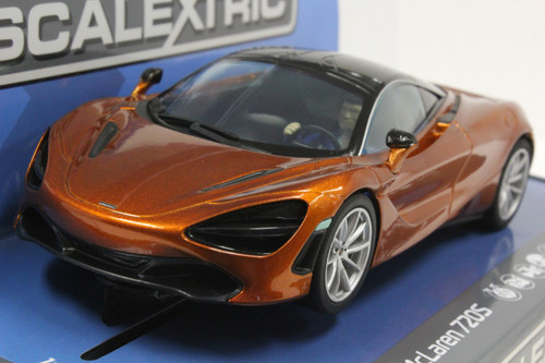 C3895 Scalextric McLaren 720S Azores Orange 1/32 Slot Car *DPR*