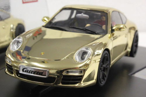 "30671 Carrera Digital 132 Porsche 911 ""Gold"" 1/32 Slot Car"