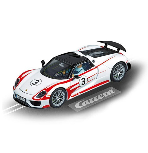 30711 Carrera Digital 132 Porsche 918 Spyder, #3 1/32 Slot Car