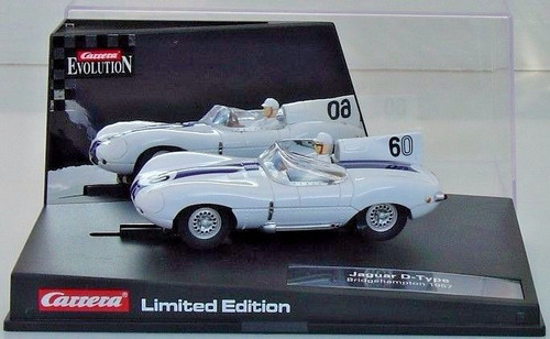 25786 Carrera Evolution Jaguar D-Type, #60 Limited Edition 1/32 Slot Car