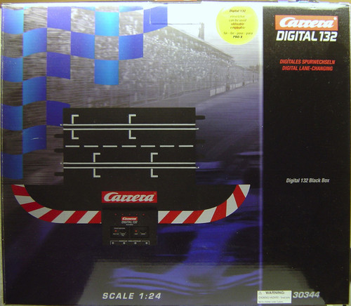 30344 Carrera Digital 132 Black Box 1/24 and 1/32 Slot Car Track
