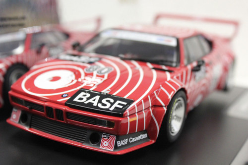 23821 Carrera Digital 124 BWM M1 Procar BASF, #80 1/24 Slot Car