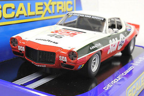 C3316 Scalextric 1970 Chevrolet Camaro, #46 1/32 Slot Car *DPR*