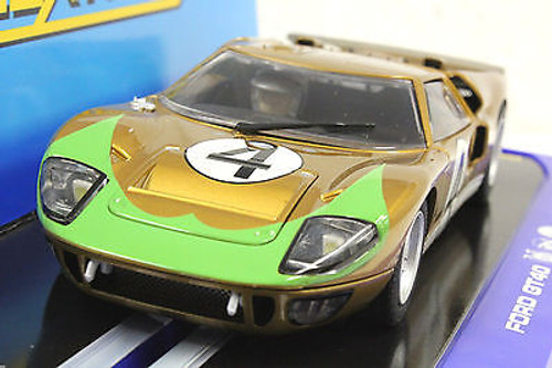 C3026 Scalextric Ford GT40 Donohue, #4 1/32 Slot Car