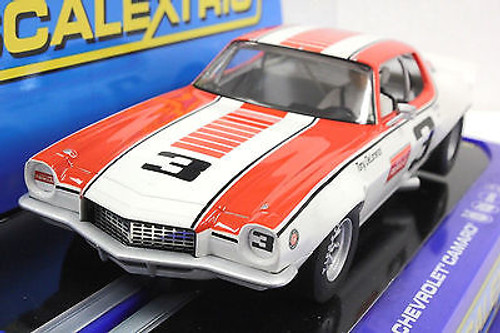 Scalextric C3065 1970 Chevrolet Camaro #33 USA Ltd Ed 1//32 Slot Car *DPR*