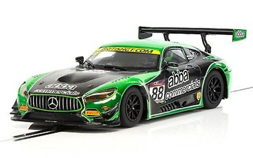 C3942 Scalextric Mercedes AMG GT3 ABBA Racing, #88 1/32 Slot Car *DPR*