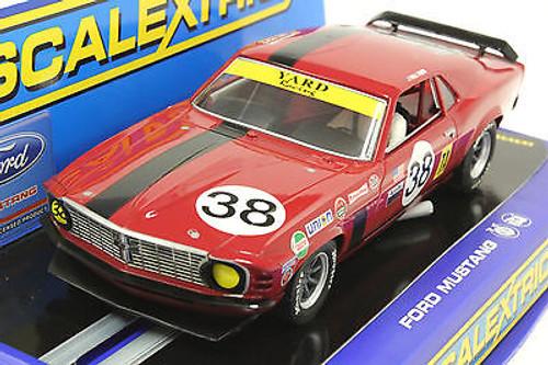 C3107 Scalextric Mustang Trans Am Boss 302, #38 1/32 Slot Car