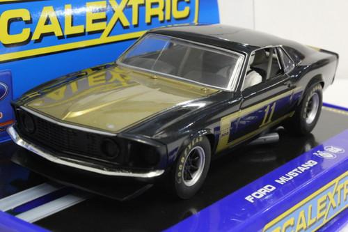 C3230 Scalextric Mustang Trans Am Boss 302 Smokey Yunick, #11 USA Limited Edition 1:32 Slot Car