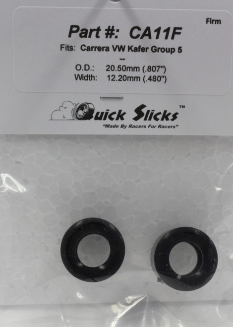 CA11F Quick Slicks Silicone Tires for Carrera Gr. 5 VW 1:32 Slot Car Part