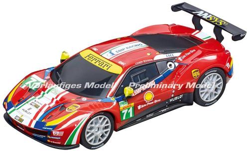 64114 Carrera GO!!! Ferrari 488 GT3 AF Corse, #71 1/43 Slot Car