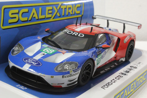 Scalextric C3857 Ford GTE Le Mans 2017, #68 1/32 Slot Car *DPR*