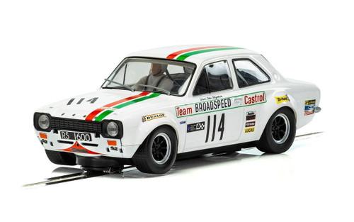 Scalextric C3924 Ford Escort RS1600 Mk1 Castrol Brands Hatch 1971 1/32 Car *DPR*