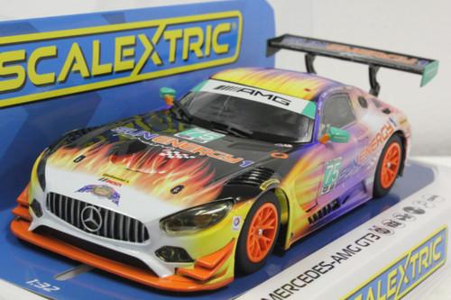 Scalextric C3941 Mercedes AMG GT3 SubEnergy Racing 2017, #75 1/32 Slot Car *DPR*