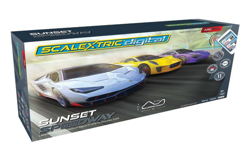 C1388T Scalextric ARC PRO Sunset Speedway Set