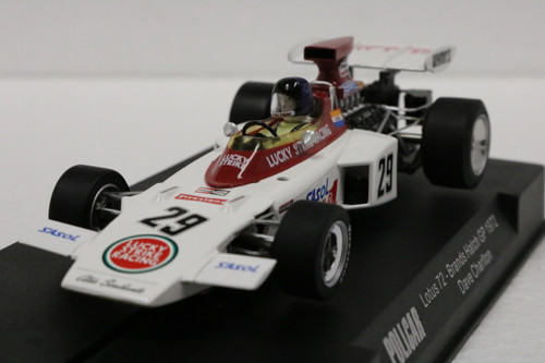 CAR02E Policar Lotus 72 British GP, Brands Hatch 1972 - Dave Charlton, #29 1:32 Slot Car
