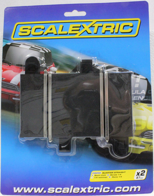 C8200 Scalextric Sport Quarter Straight Track 1/32 Slot Car Track