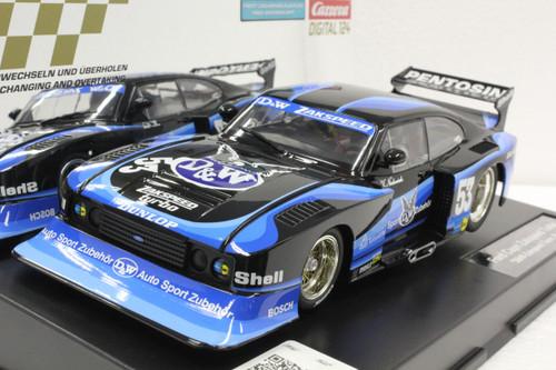 23859 Carrera Digital 124 Ford Capri Zakspeed Turbo, #53 1:24 Slot Car