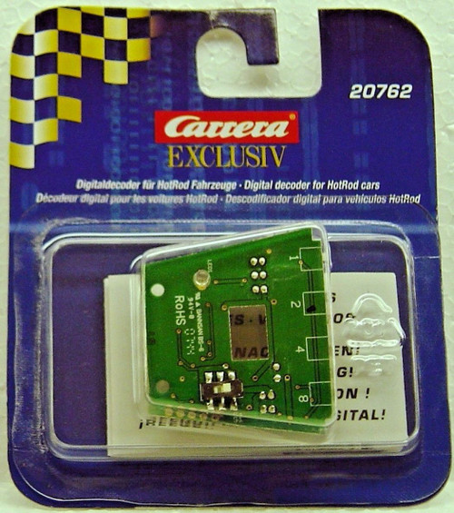 20762 Carrera Digital Decoder for Exclusiv Hot Rods 1:24 Slot Car Part
