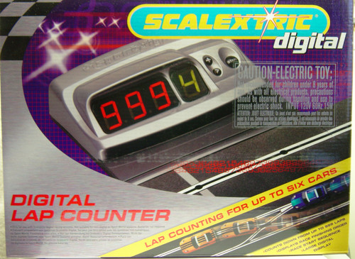 C7039 Scalextric Digital Lap Counter to Race 6 Cars 1:32 Slot Car Accessory