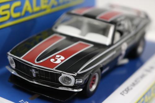 C4014 Scalextric Mustang Trans Am 1972 John Gimbel, #3 1:32 Slot Car *DPR*