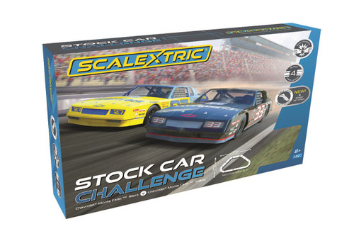 C1383 Scalextric Stock Car Challenge 1:32 Slot Car Set