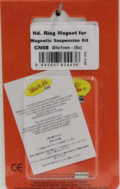 SICN08 Slot.it Replacement Magnets for Magnet Suspension Kit 1:32 Slot Car Part