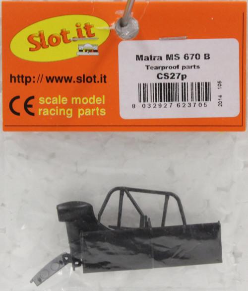 SLOT IT SICS27V MATRA TRANSPARENT PART WINDSHIELD NEW 1//32 SLOT CAR