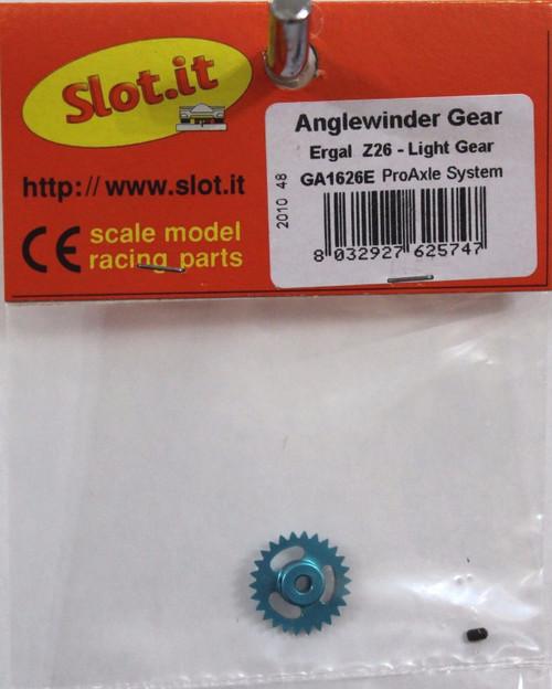 SIGA1626E Slot.it 26 Tooth Anglewinder Pro Gear 3/32 1:32 Slot Car Part