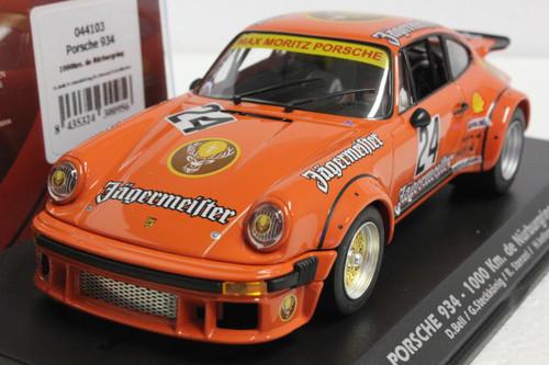 044103 Fly Porsche 934 1000 Km de Nurburgring 1976 D. Bell/G. Steckkonig/R. Stenzel/H. Kelleners 1:32 Slot Car