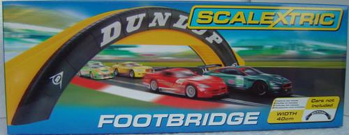 C8332 Scalextric Dunlop Footbridge 1:32 Slot Car Track Accessory