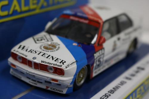 C4040 Scalextric BMW E30 M3, DTM 1989 Champion #15 1:32 Slot Car DPR
