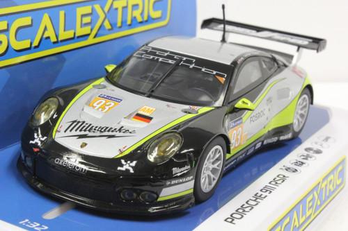 C4020 Scalextric Porsche 911 RSR, LeMans 2017 Proton #93 1:32 Slot Car DPR