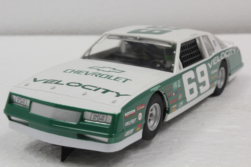C3947 Scalextric Chevy Monte Carlo 1986, #69 Green 1:32 Slot Car