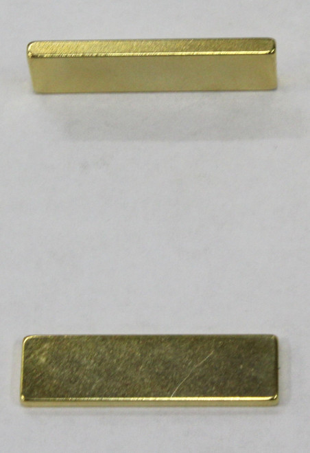 CRM01 Cheetah Racing Magnets - Strong Gold Rectangular Neodymium Magnet (1 Piece) 1:32/1:24 Slot Car Part